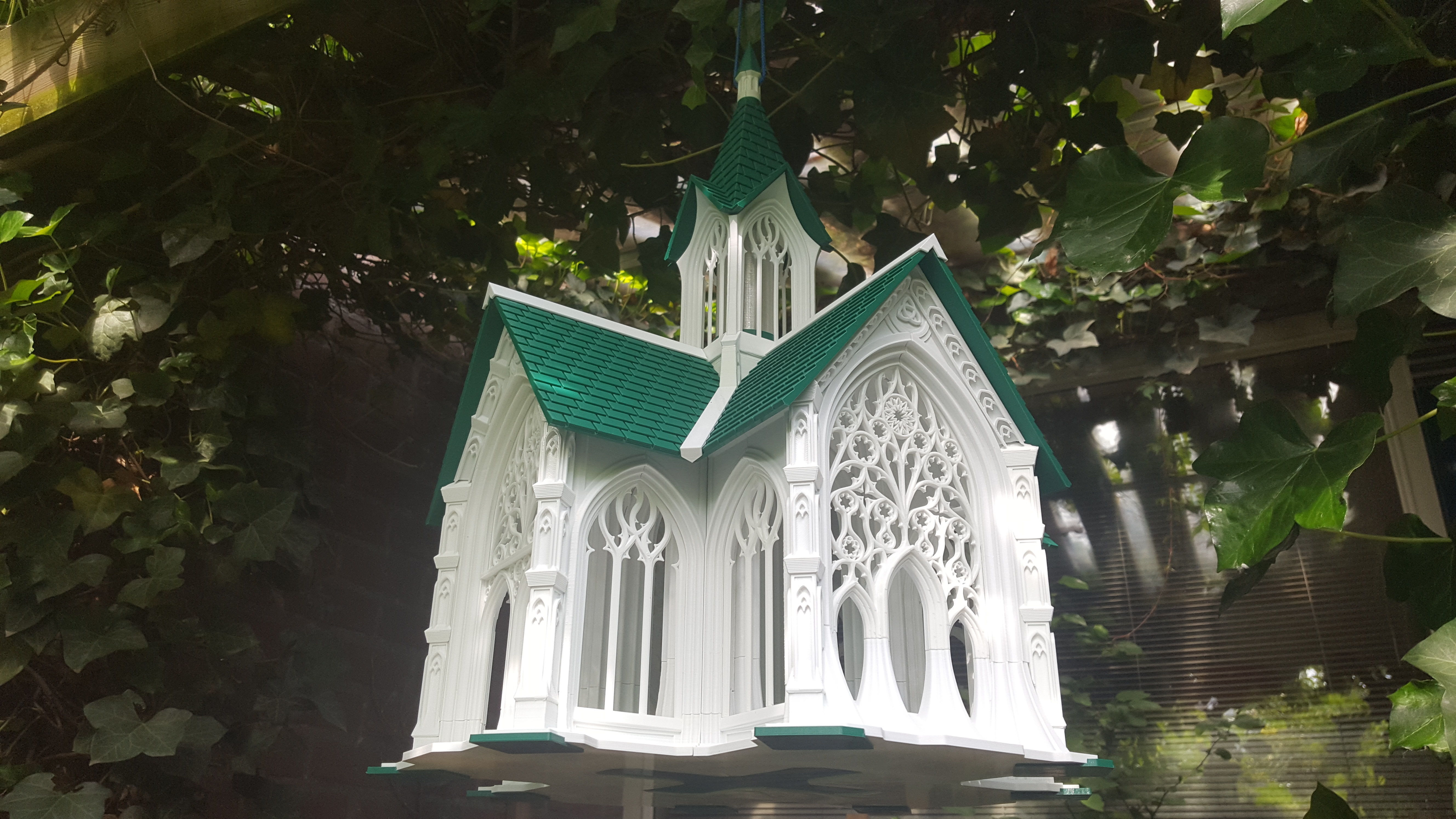 Bird House Cathedral style