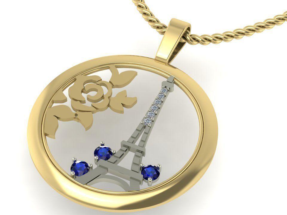 pendant i love Paris