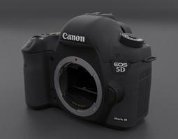 3D model Canon 5D mark III Body