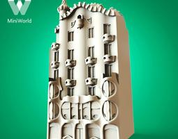 Casa Batllo 3D Model