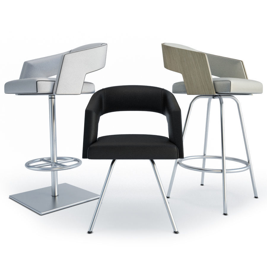Armchairs and Bar Stools Jolly Collection Potocco