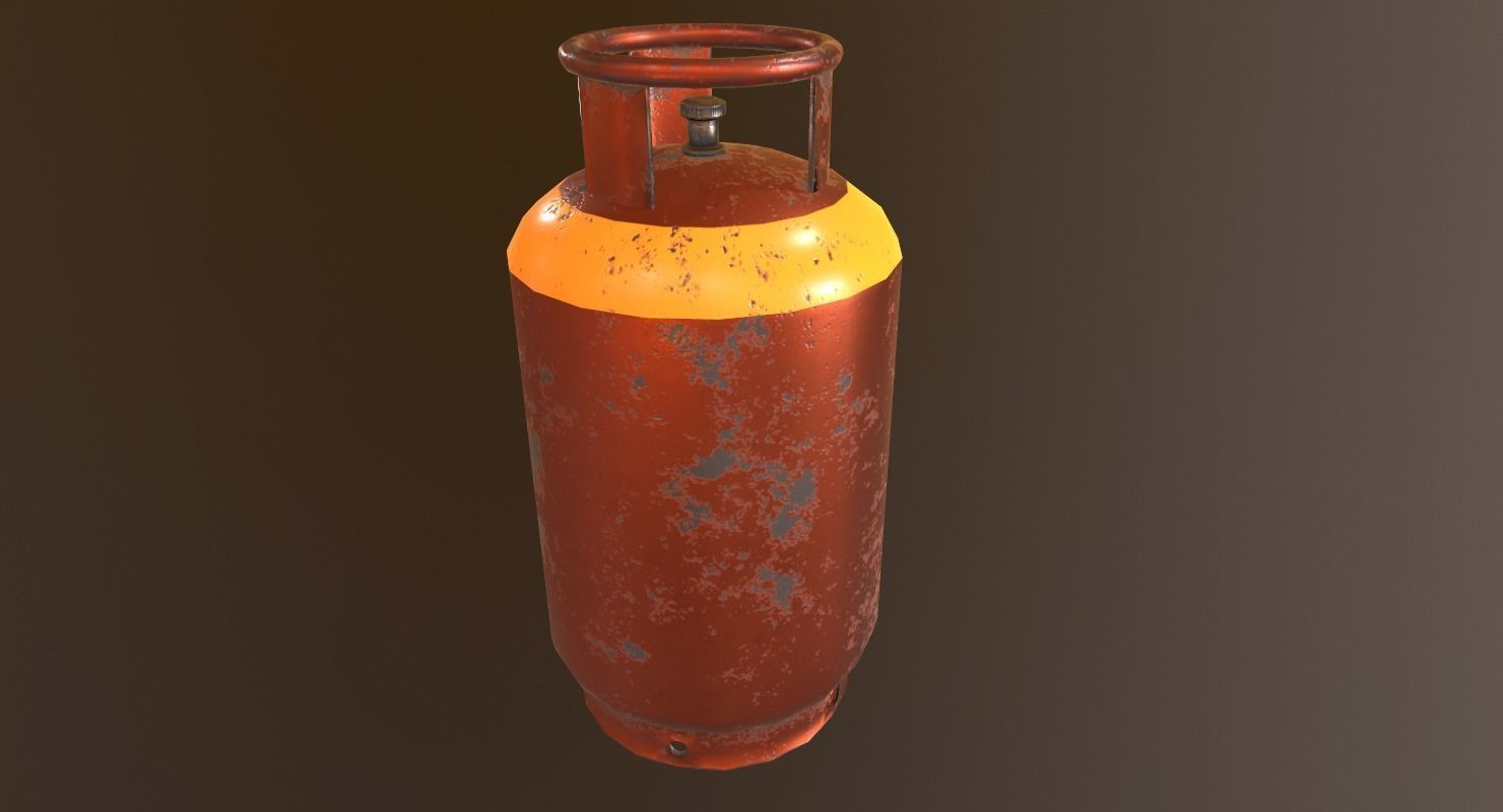 Gas Canister - PBR Game Ready