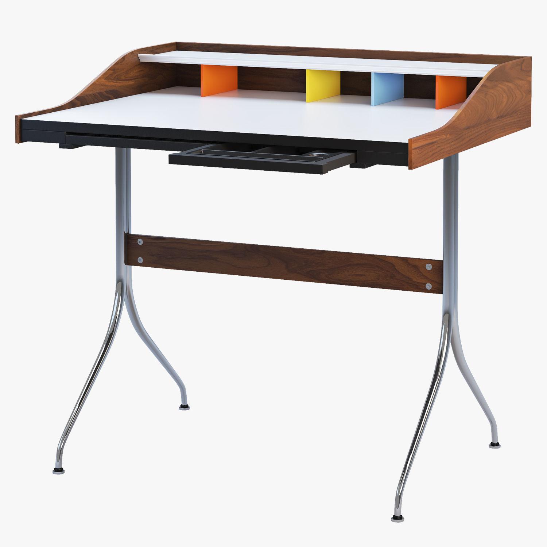 Nelson Swag Leg Desk Model