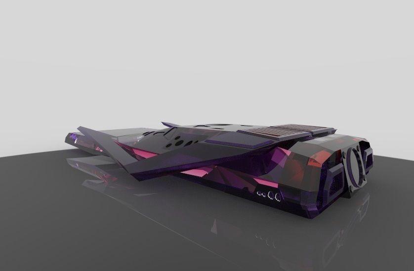 3D printable model interstellar-s-ranger | CGTrader