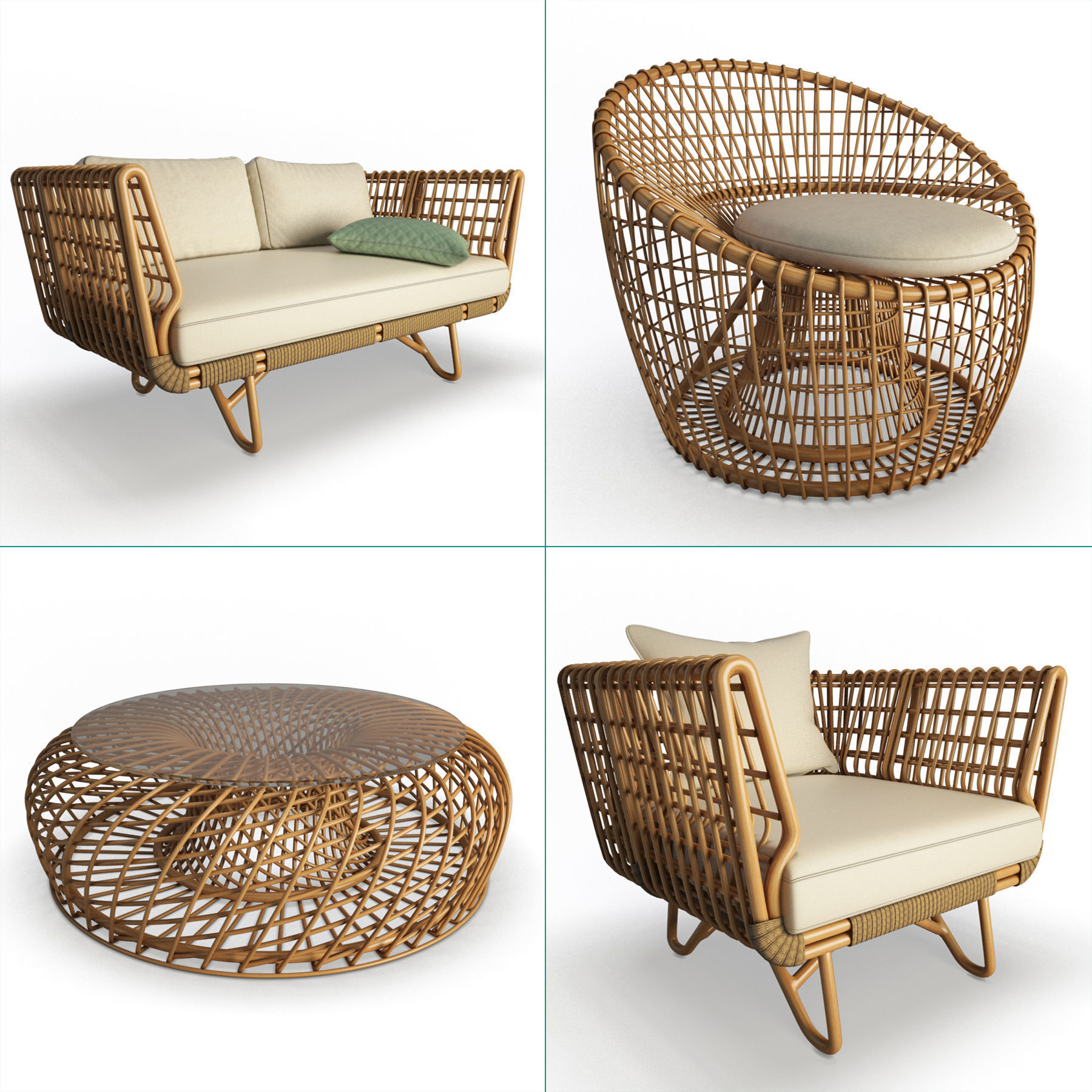 Nest Rattan Furniture Collection Cane-Line