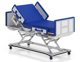 3d model advanced hospital bed