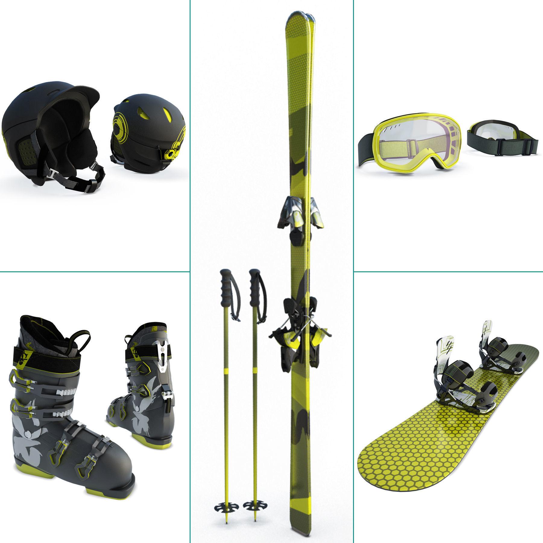 Winter Sport Equipment Ski and Snow