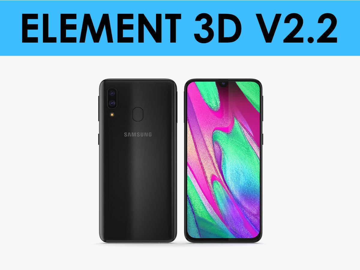 E3D - Samsung Galaxy A40