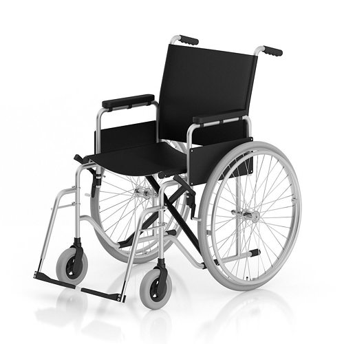 wheelchair 3d model max obj fbx c4d mtl 1