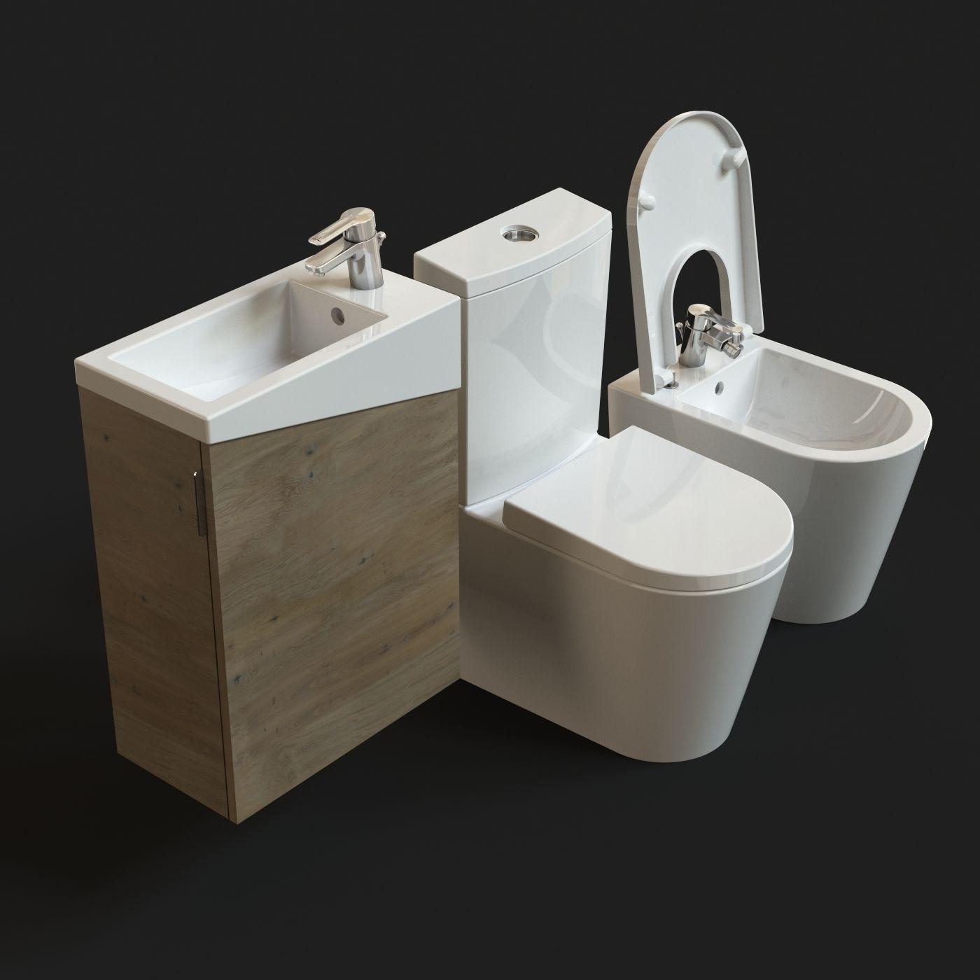 Urb Y Plus Sanitaryware Free Model Free 3d Model Max Obj