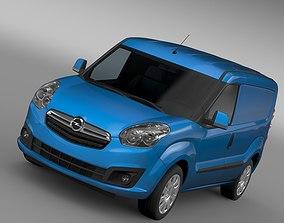 Opel Combo SWB Cargo 2015 D 3D
