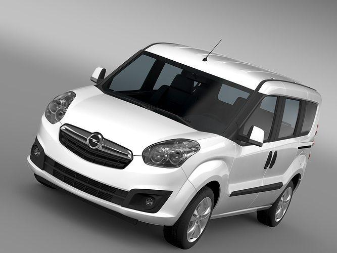 3d Opel Combo Tour Ecoflex D 2015 Cgtrader