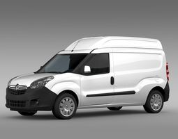Vauxhall Combo H2L2 Cargo 2015 3D