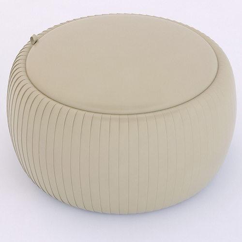 tonin casa plisse tavolino ottoman 3d model max obj mtl 3ds fbx X 1