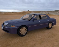 3D model Luxury Sedan