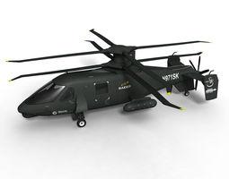 S-97 Raider 3D Model