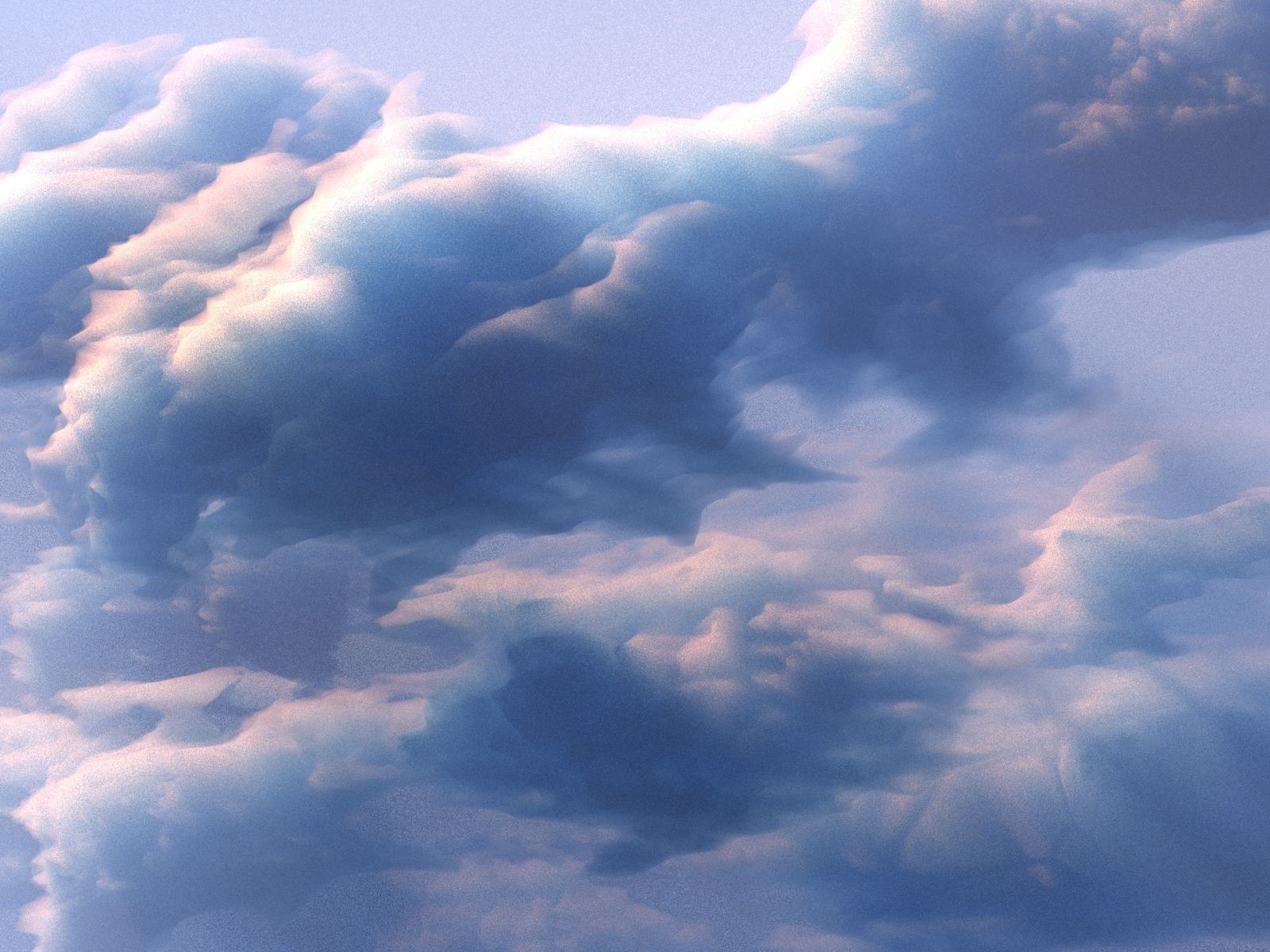 3D Clouds Generator Animated