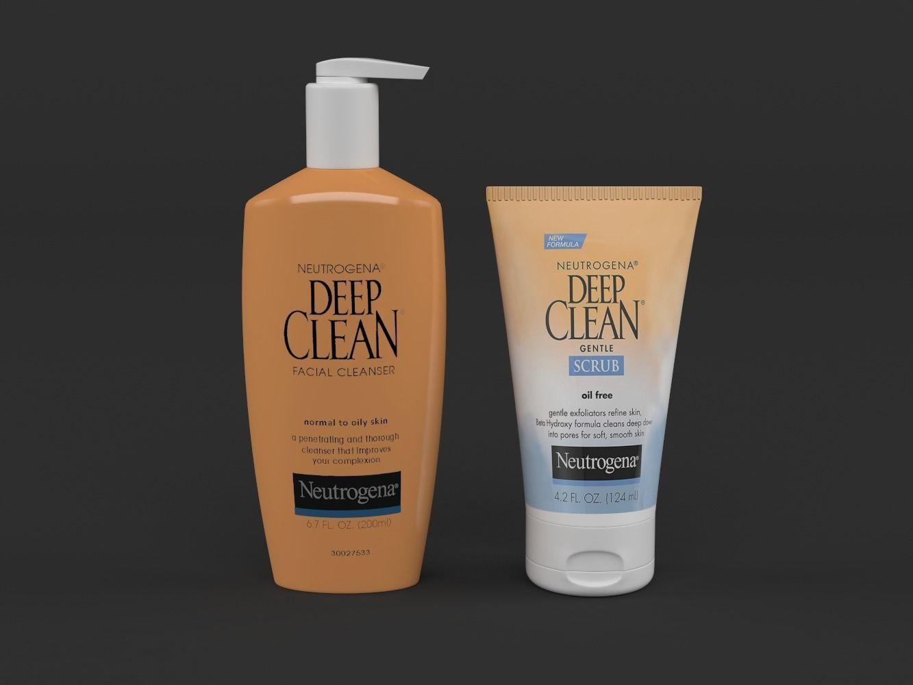 Neutrogena Deep Clean Daily Facial Cleanser