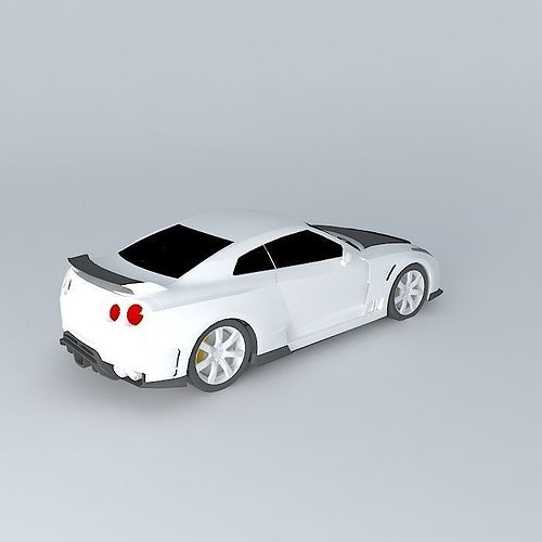 Axell Cars Nissan Gt R 3d Cgtrader