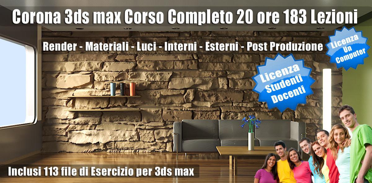 Corona 3ds max Guida Completa Studenti Subscription