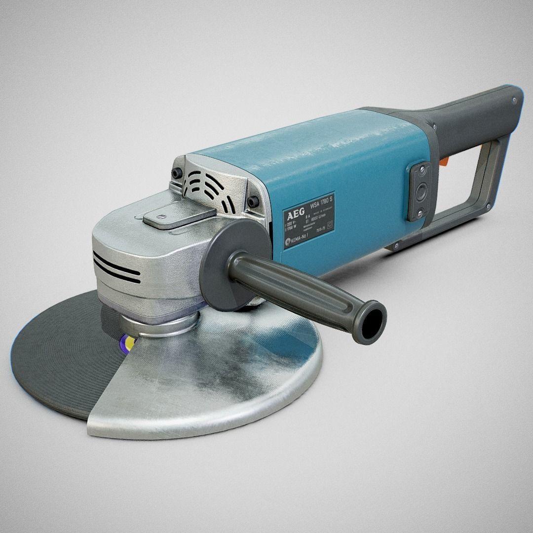 Angle Grinder - AEG WSA 1780S Clean