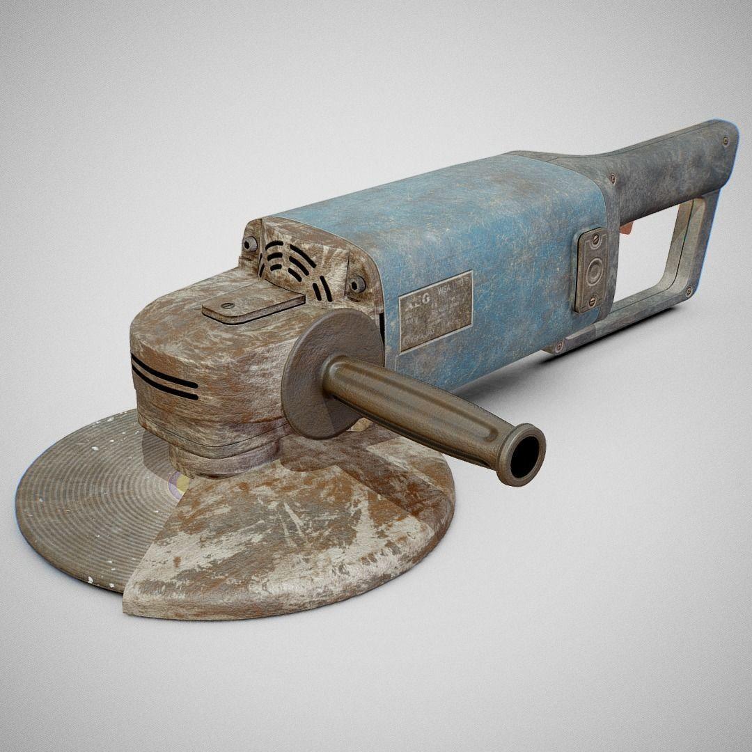 Angle Grinder - AEG WSA 1780S Dirty