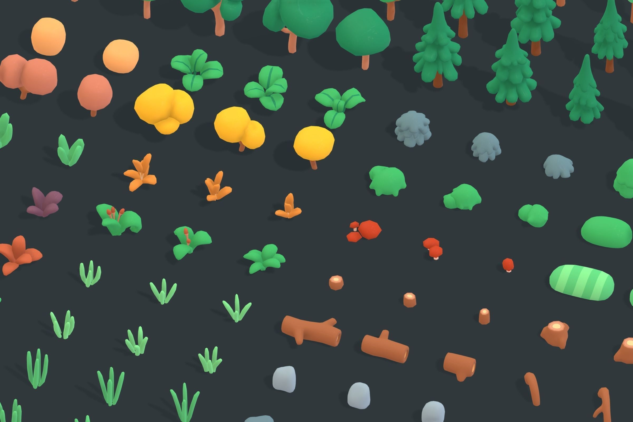 Nature Forest - Animation Assets