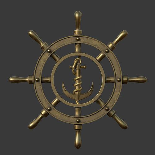 Anchor wheel pendant