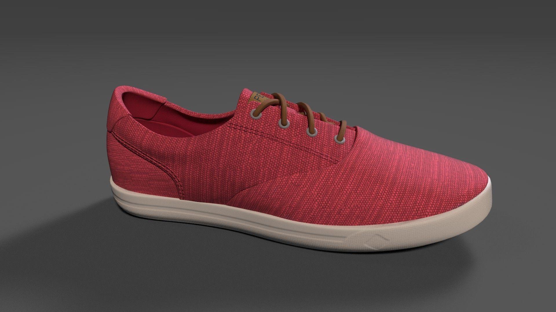 SPERRY Mens Striper II CVO Baja Sneakers | 3D model
