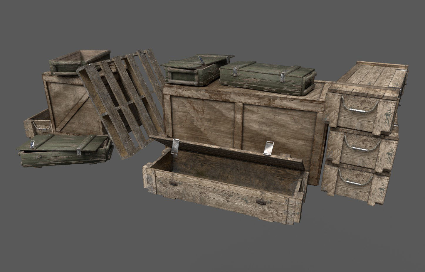 Military Crates Pack