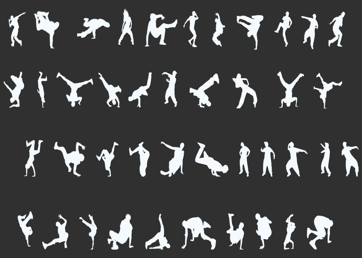 Dancer Silhouettes Pack