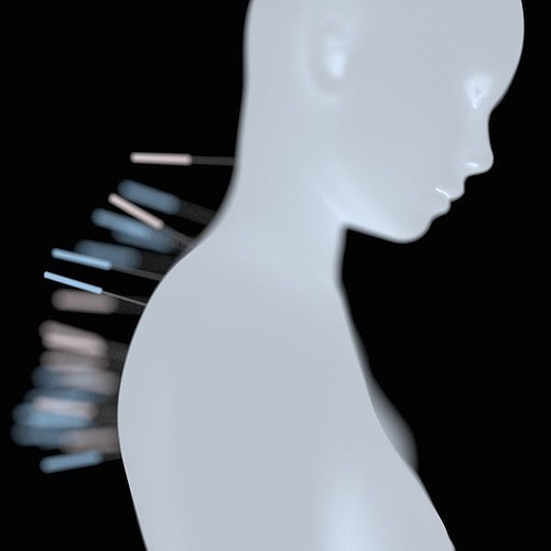 acupuncture 3d model blend 1