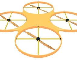 Drone Sleek 3D model