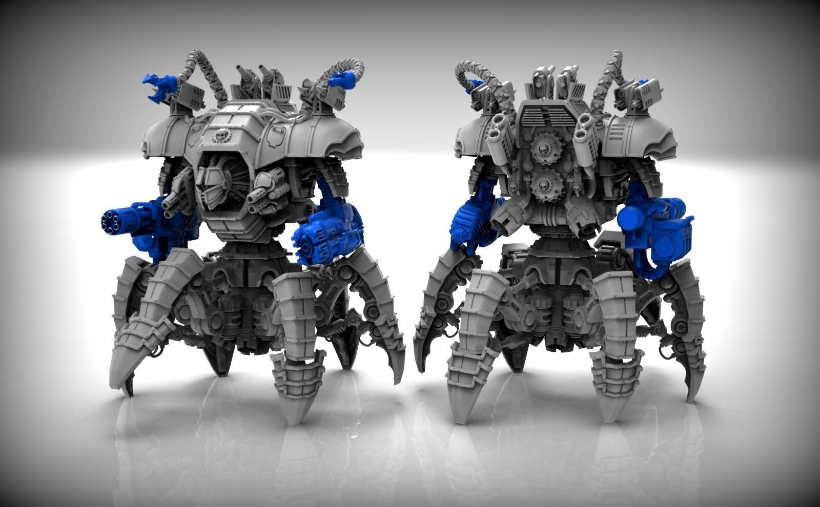 Dark Techno Heavy Arachknight Torso