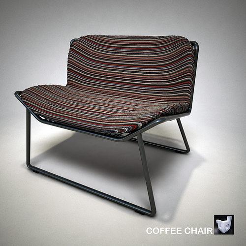 lounge coffee chair 1786zs 3d model obj 3ds fbx dae skp mtl 1