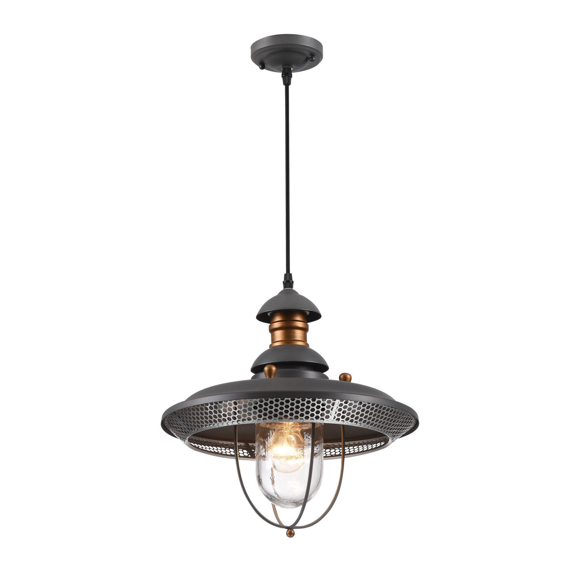 Garden Lamp 3d Model: Pendant Lamp Magnificent Mile S105-106-41-G 3D Model 1