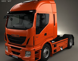 Iveco Stralis 500 Tractor Truck 2012 3D