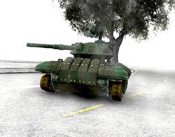 Drone Tank 3D model