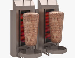 Turkish Doner IZMIRINOX 3D model