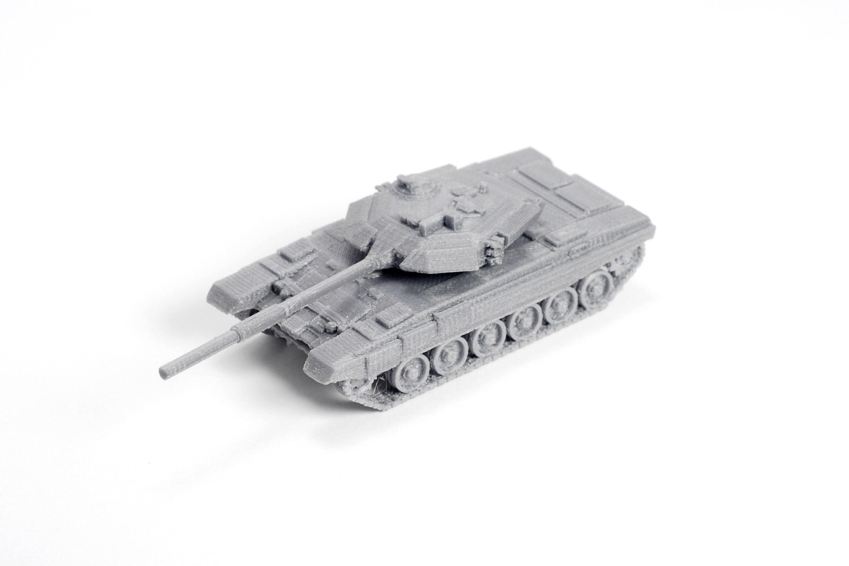T tank model kit free d printable stl