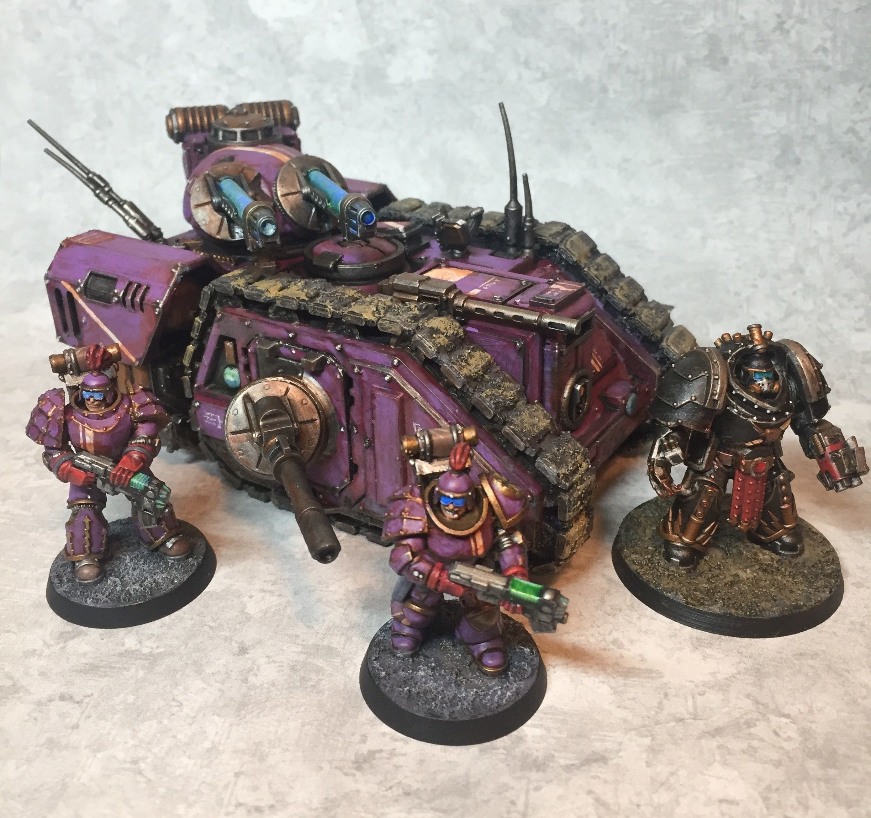 Tempest Knights -  Rapid Assault Bulk Imperil Transport - RABIT
