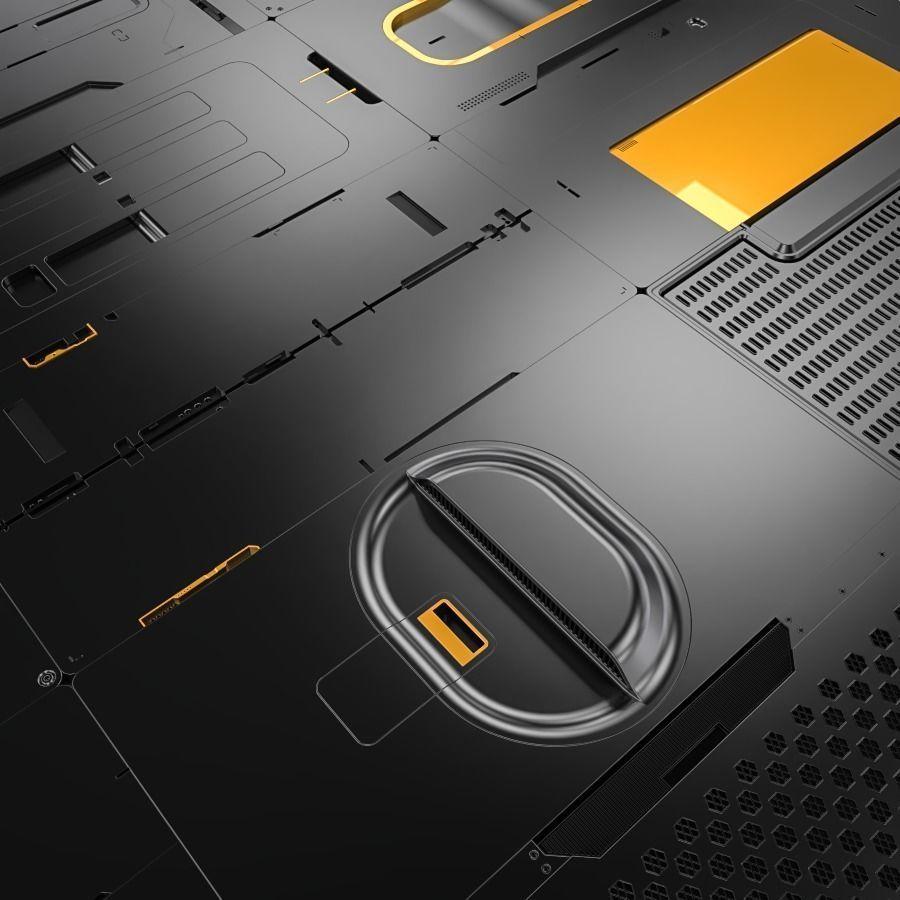 Sci-Fi Panels Kitbash