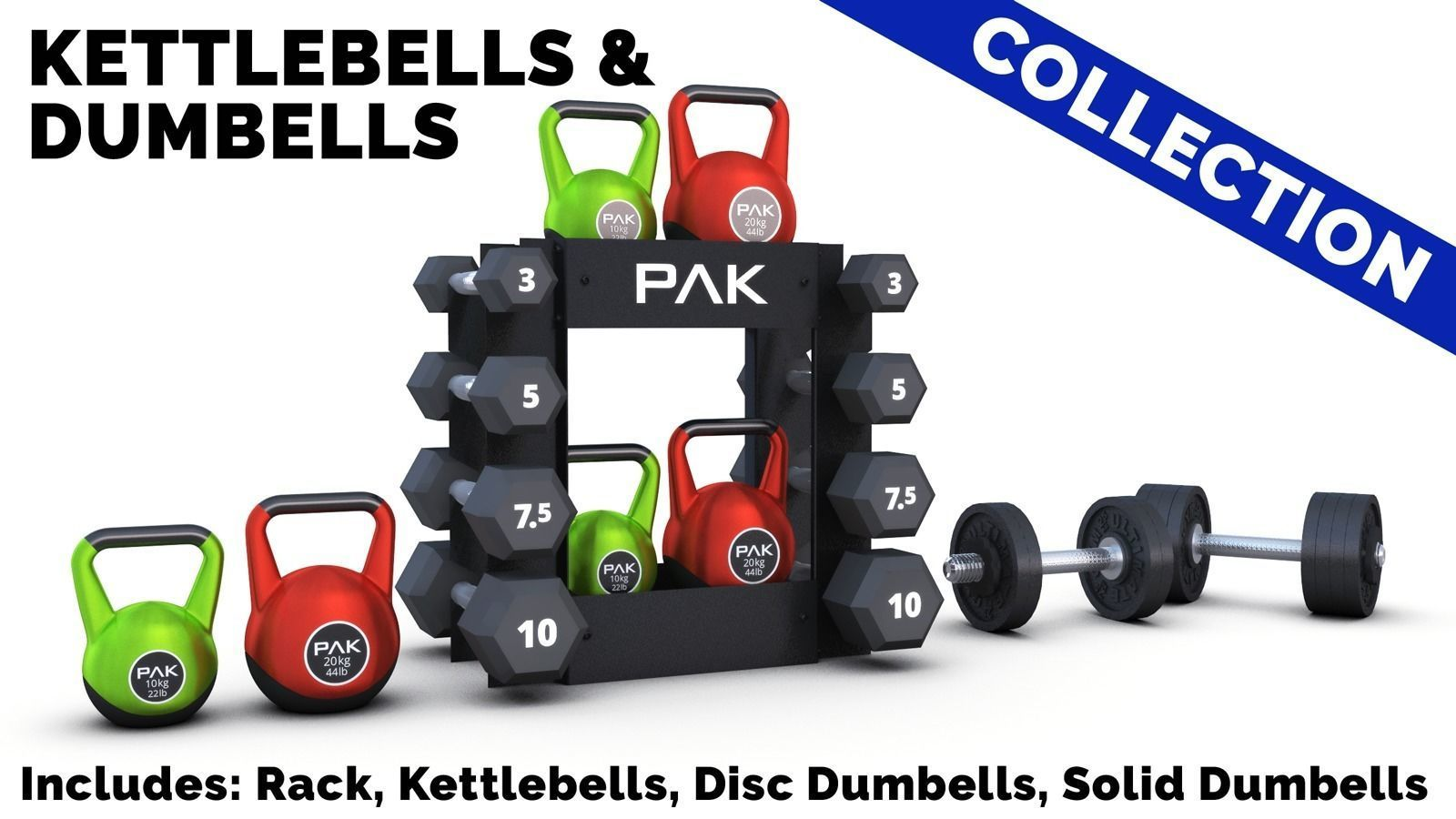 Kettlebells and Dumbbells Collection