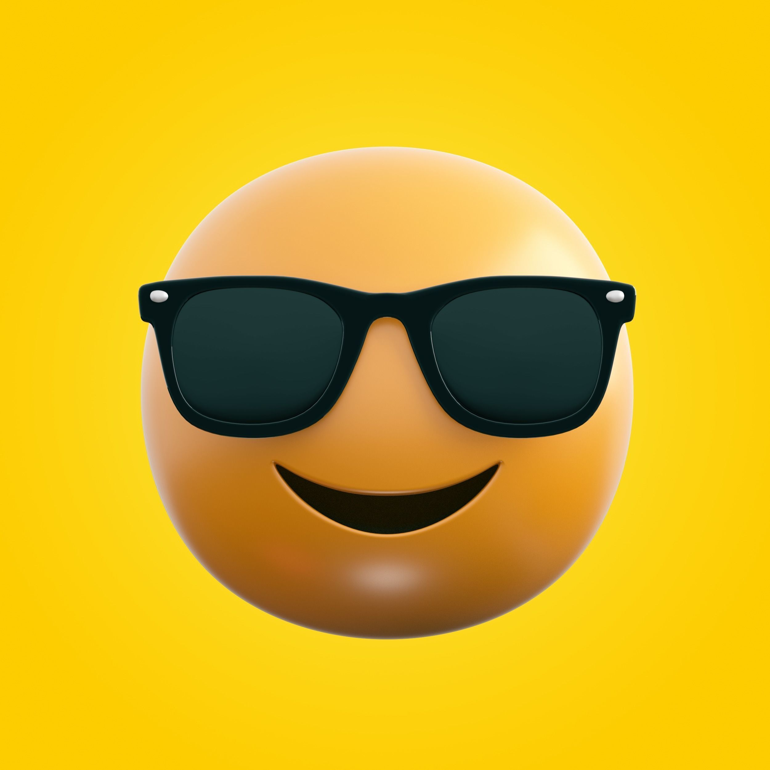 3D model realtime Emoji Sunglasses | CGTrader