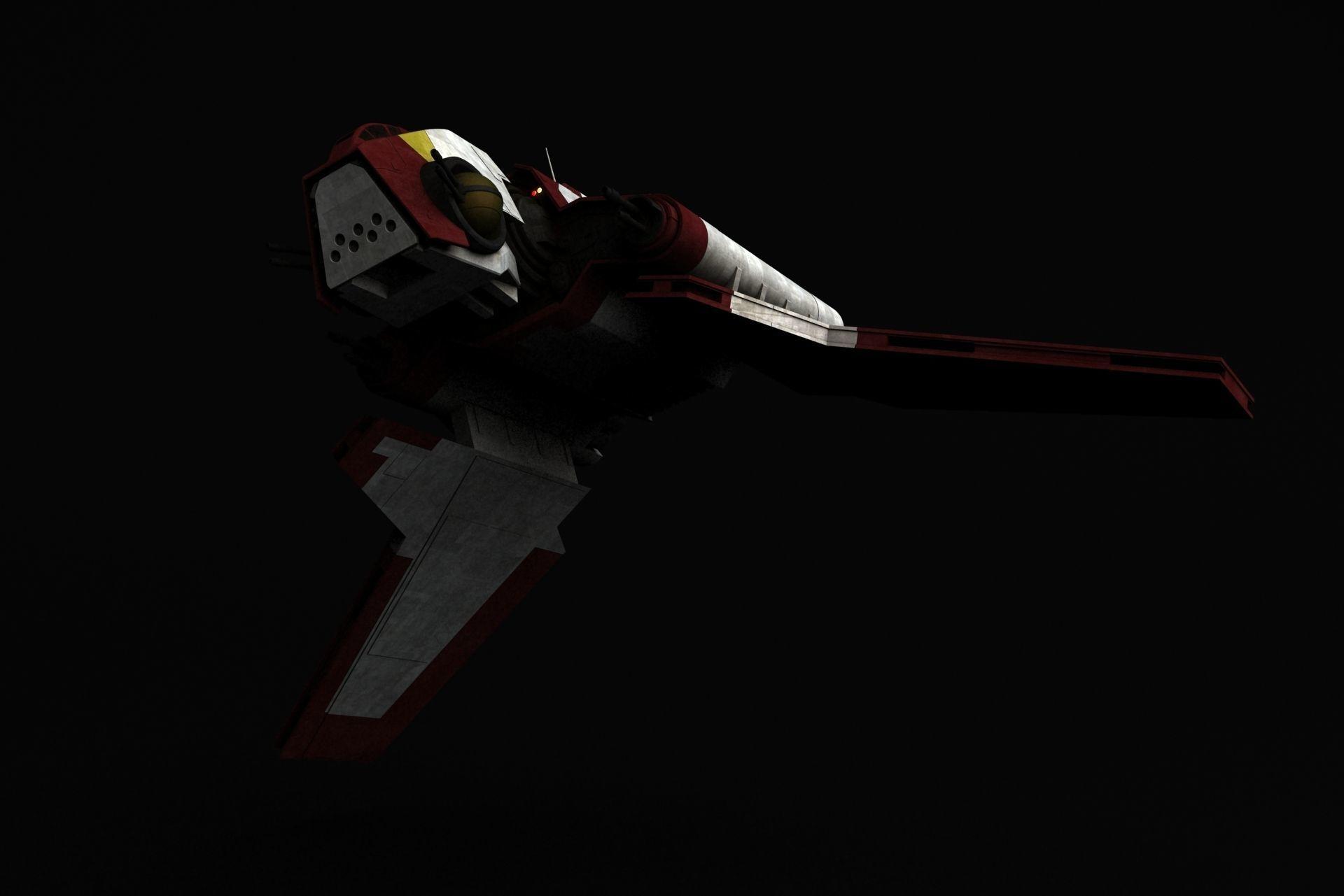 Star Wars Nu-class attack shuttle