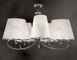 Chandelier lustre furniture 3D