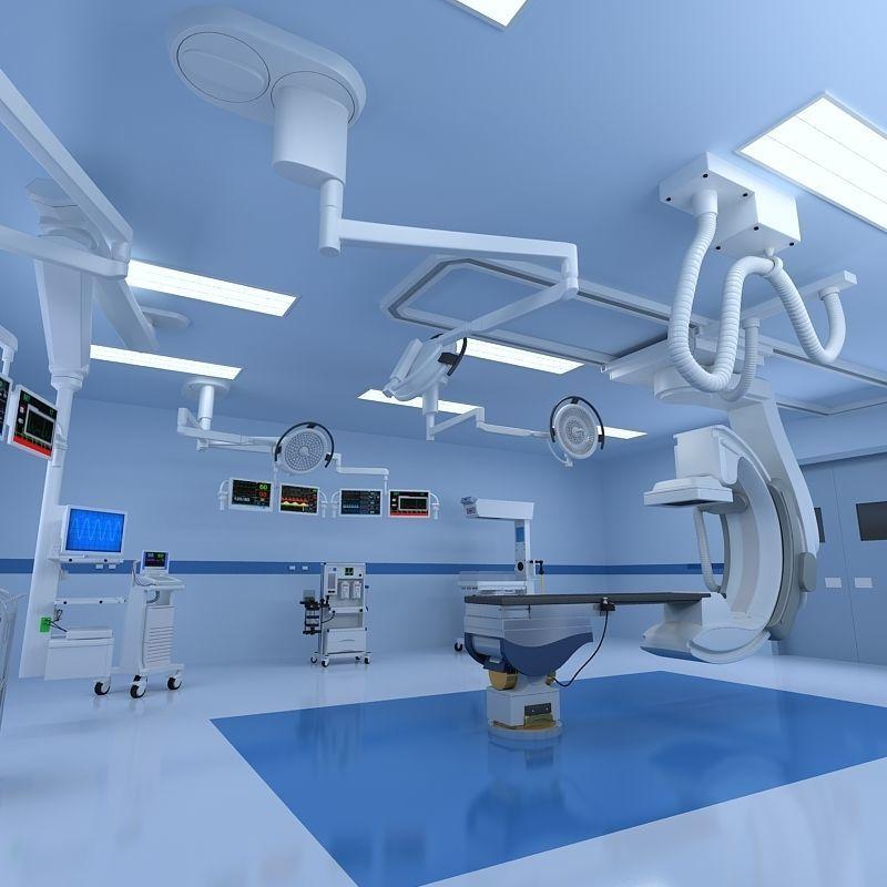 Hospital Hybrid Operating Room