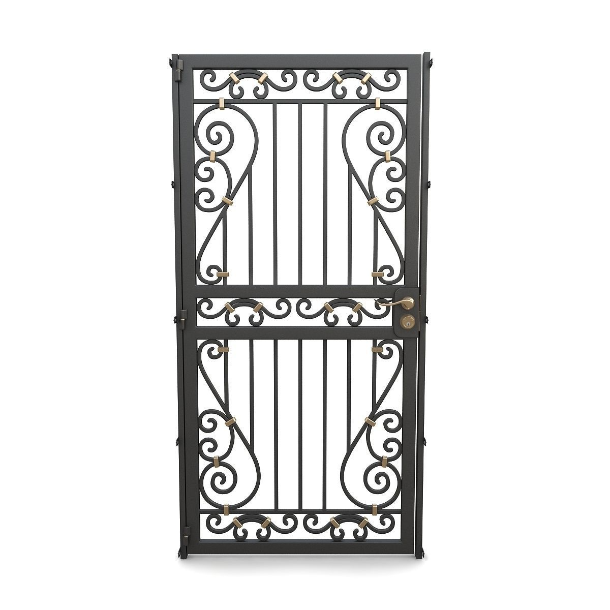 Wrought iron gate 11