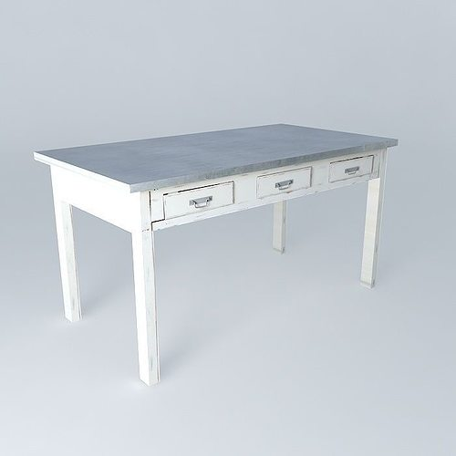 Dining table sorgues 3d model max obj 3ds fbx stl dae for Dining room table 3ds max