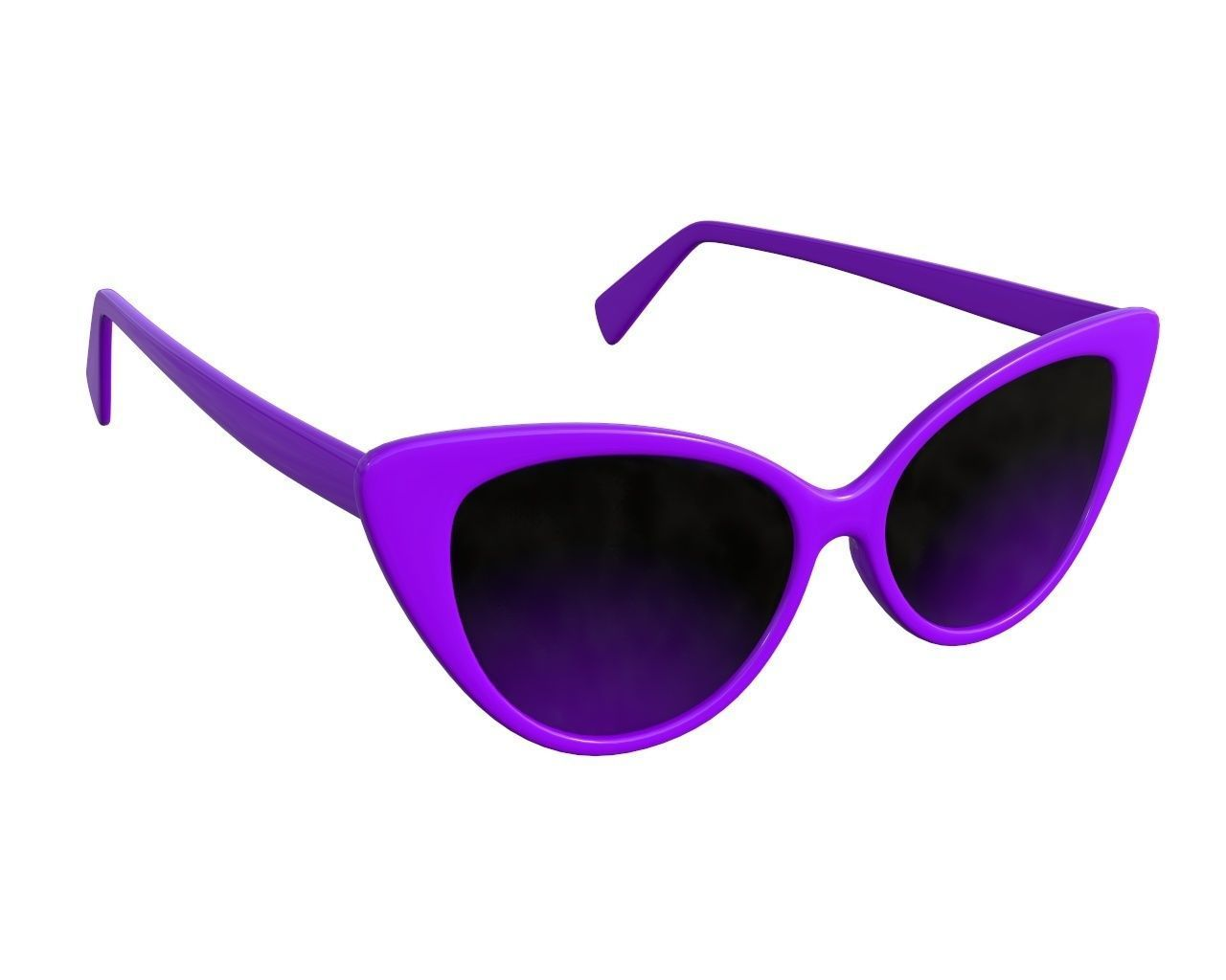 Butterfly shaped sun glasses